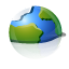 earth, internet, browser icon