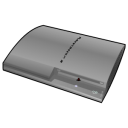 playstation, silver icon