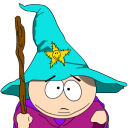 Cartman Gandalf zoomed icon