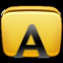 Folder, Fonts, icon