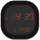 clock digital icon