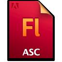 Asc, Document, File, Fl icon