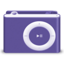 shuffle,purple icon