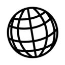 Sphere grid icon