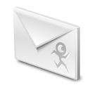 envelop, letter, message, rokey, email, gmail, mail icon