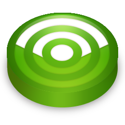 green, rss, feed, subscribe icon