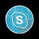 call, social, skype, media icon