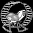 click n run grey icon