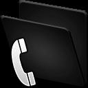 folder,telephone icon