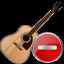 guitar,delete,instrument icon
