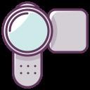device, play, camera, move, audio, appliance, video icon