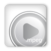 mpeg, play icon
