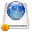 network, idisk, public icon