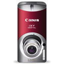 digital, red, ixy, canon icon