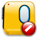 walkman,cancel,stop icon