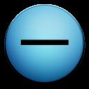subtract, minus icon