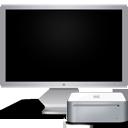 display, computer, mac, screen, mini, off, cinema, monitor icon