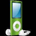 iPod Nano green on icon