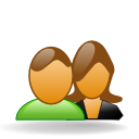 female, male, users, forum icon