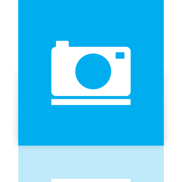 picture, library, mirror icon