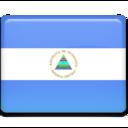 nicaragua,flag,country icon