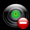disc,remove,disk icon
