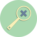 file, format, add, plus, zoom, magnifier, documents icon