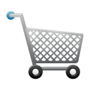 trolley, shopping, ware icon