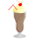food, milkshake, chocolate icon