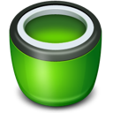 Bin, Empty, , Recycle icon
