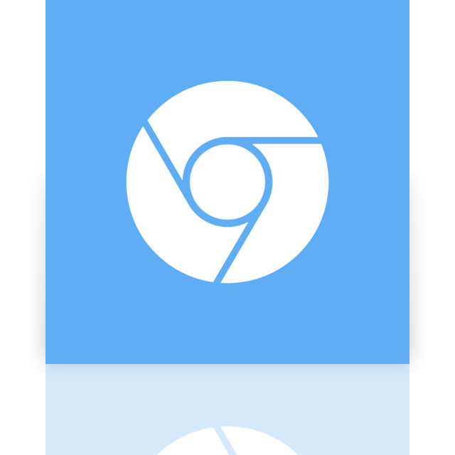 chromium, google, mirror icon