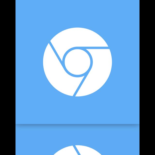chromium, google, mirror icon