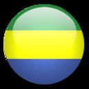 gabon,flag,country icon