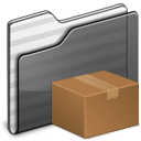 download,folder,black icon
