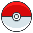 play, pokemon, pokeball, go, game icon