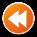 search, seek, back, media, find, left, previous, arrow, prev, backward icon