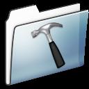 Developer, Folder, Graphite, Smooth icon