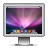 screen,aurora,monitor icon