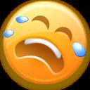 emot, smiley, emotion, cry, face icon