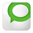 social technorati box white icon