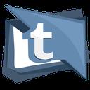 blog, media, social, tumbler, tumblr icon