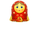 red matreshka upper part icon