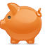 Piggybank, Saving icon