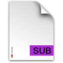 sub,fileextension icon