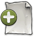 new, page, document icon
