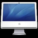 iMac blue icon