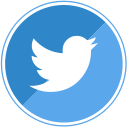 tweet, twitter, social, blue icon