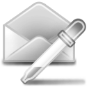 extract, mail icon