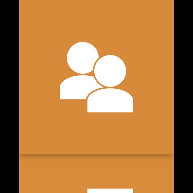 account, user, mirror icon
