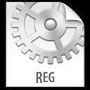 File, Reg, z icon